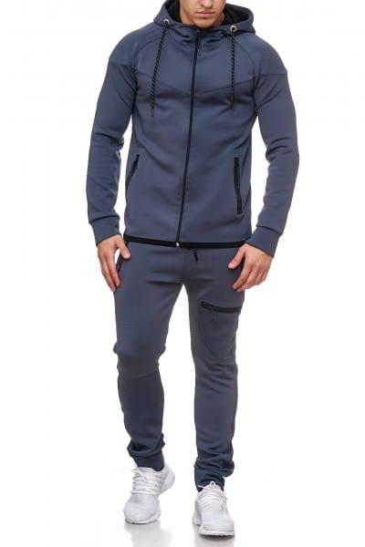 Herren Jogginganzug Trainingsanzug Sportanzug Fitness Streetwear 1089C