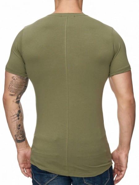 Herren T-Shirt Poloshirt Shirt Kurzarm Printshirt Polo Kurzarm 1023C