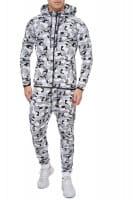 OneRedox Costume de jogging homme en combinaison sport modèle 713 camouflage