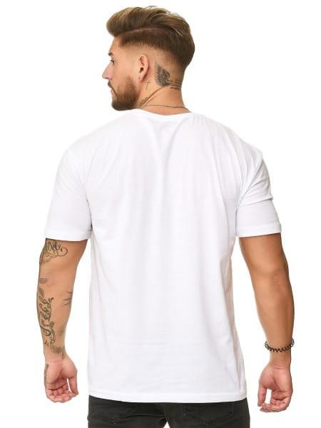 Heren T-Shirt Polo Shirt Korte mouw Printshirt Polo Korte mouw ko19-t2