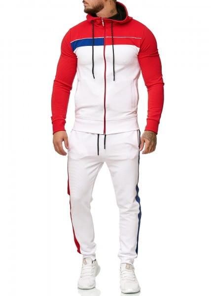 Heren trainingspak trainingspak fitness streetwear 1245cn