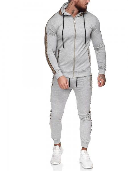 Herren Jogginganzug Trainingsanzug Sportanzug Fitness Streetwear JG-1424
