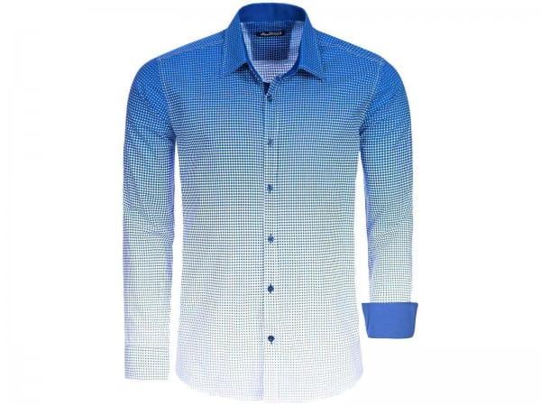 Heren Shirt Casual Shirt Elegant Zakelijk Veelkleurig 15008c