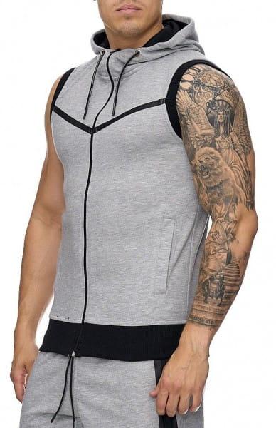 Heren Vest Mouwloos Zweet Vest Sport Zomer Fitness 972c