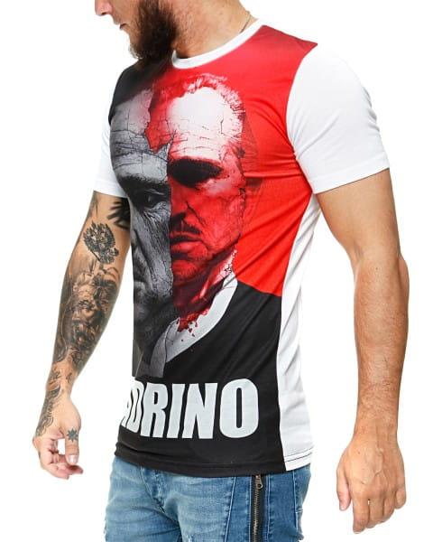 Herren T-Shirt Kurzarm Rundhals El Padrino Modell 1455