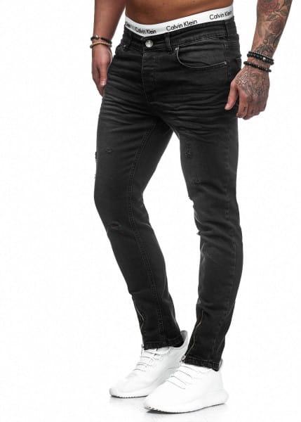 Herren Jeans Hose Slim Fit Männer Skinny Denim Designerjeans 5098C