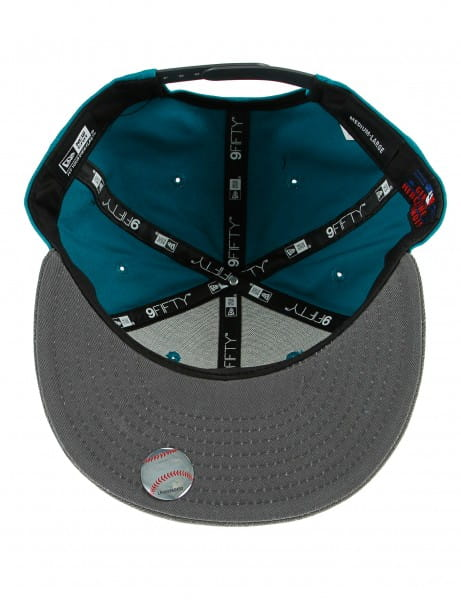Nieuwe Era 9fifty Baseball Cap Cappy San Francisco Giants Turquoise Grey