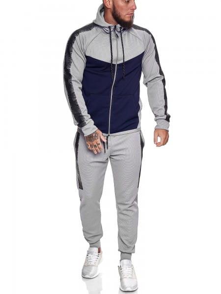 Herren Jogginganzug Trainingsanzug Sportanzug Fitness Streetwear 1053AC