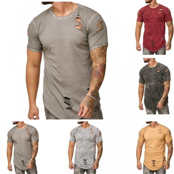Heren T-Shirt Polo Shirt Korte mouw Printshirt Polo Korte mouw 9082 83c