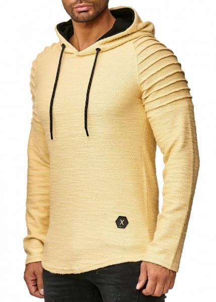 OneRedox Pull à capuche pour homme Sweat à capuche Sweat à capuche Sweat Jacket à manches longues Sweat Jacket Basic pour homme