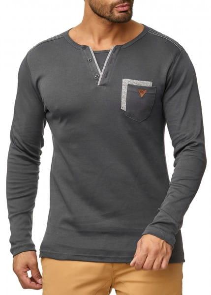 OneRedox Pull à capuche pour homme Sweat à capuche Sweat veste à capuche Sweat à manches longues Sweatshirt Modèle de base 1045