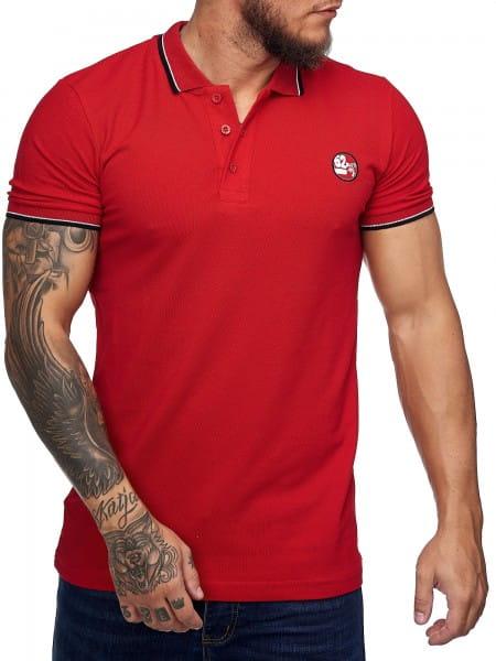 Heren T-Shirt Poloshirt Korte mouw Printshirt Polo Korte mouw 1403c1