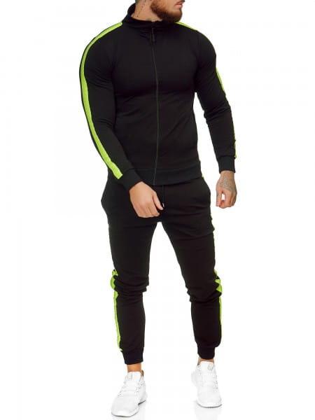 Heren trainingspak trainingspak fitness streetwear jg-1068
