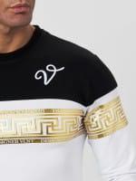 OneRedox Longsleeve Herren Langarmshirt für Männer Polo Poloshirt Basic Shirt Hoodie Shortsleeve Kur