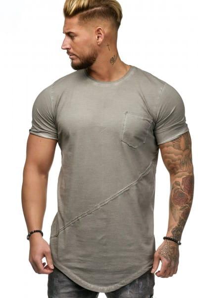 Heren T-Shirt Polo Shirt Korte mouw Printshirt Polo Korte mouw 9032c