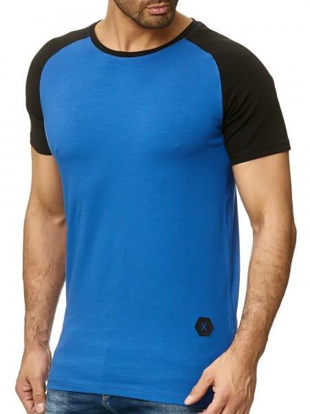 OneRedox T-shirt homme Hoodie à capuche à manches longues Sweat-shirt à manches courtes Modèle 1302