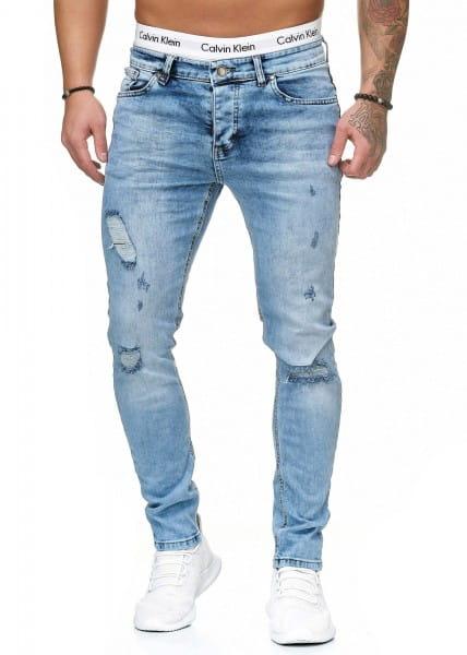 Herren Jeans Hose Slim Fit Männer Skinny Denim Designerjeans 5094C
