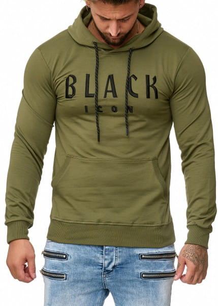 OneRedox Sweatshirt homme Sweat à capuche Sweater à capuche Pull à capuche modèle 1012