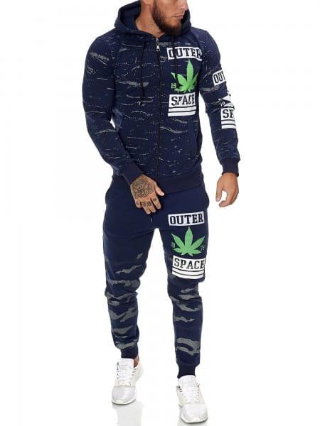 Herren Jogginganzug Trainingsanzug Sportanzug Fitness Streetwear STL-1087-1088