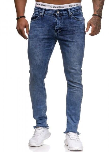 Herren Jeans Hose Slim Fit Männer Skinny Denim Designerjeans 5137C