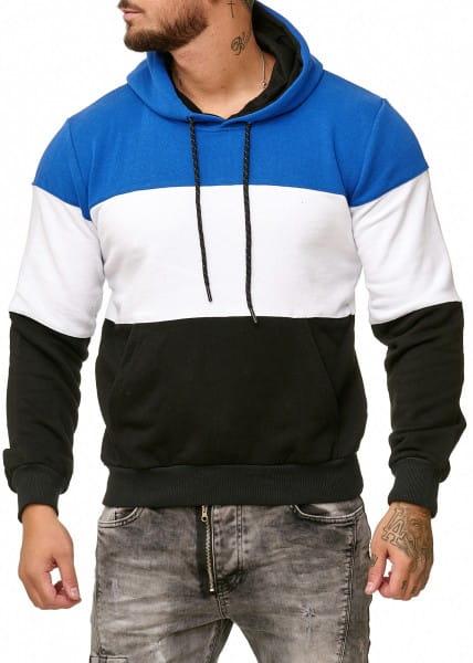 Heren trui hoodie trui lange mouw lange mouw 1237c
