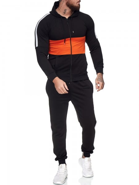 Heren trainingspak trainingspak fitness streetwear jg-1081
