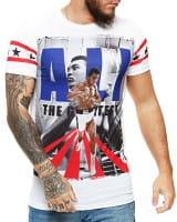 Herren T-Shirt Kurzarm Rundhals King Notorious Modell 1460