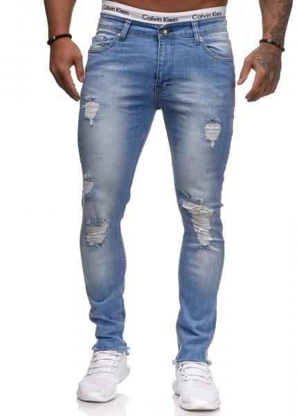 Herren Jeans Hose Slim Fit Männer Skinny Denim Designerjeans 5139C