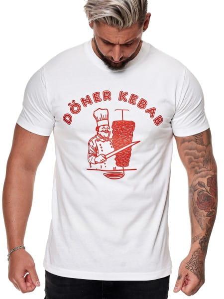 Herren T Shirt Poloshirt Polo Döner Kebab Longsleeve Kurzarm Shirt Modell FUN300