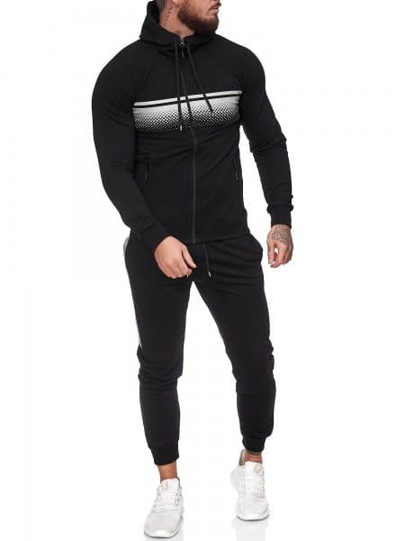 Heren trainingspak trainingspak fitness streetwear jg-1086