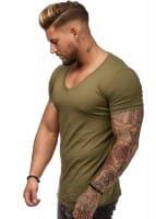 OneRedox Chemise pour homme Sweat à capuche à manches longues Sweat à manches courtes Sweatshirt manches courtes T-Shirt bs500