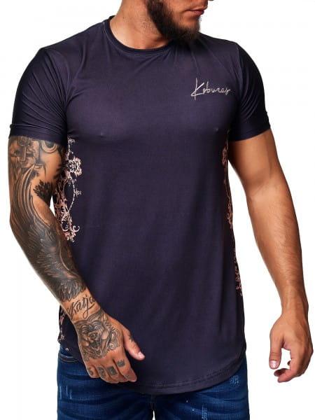 Koburas Herren T-Shirt Kurzarm Rundhals Shortsleeve Trikot Modell 2170