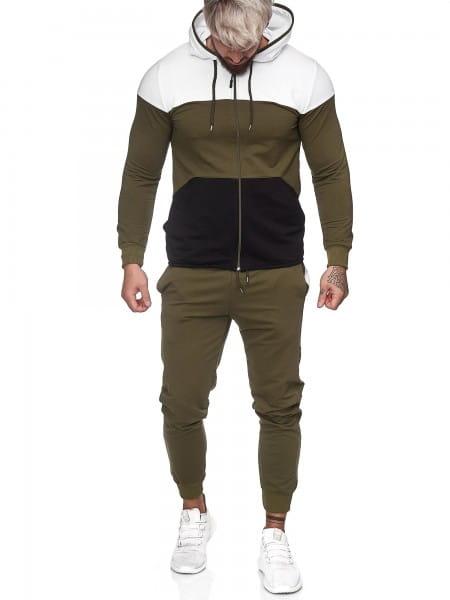 Herren Jogginganzug Trainingsanzug Sportanzug Fitness Streetwear JG-1083