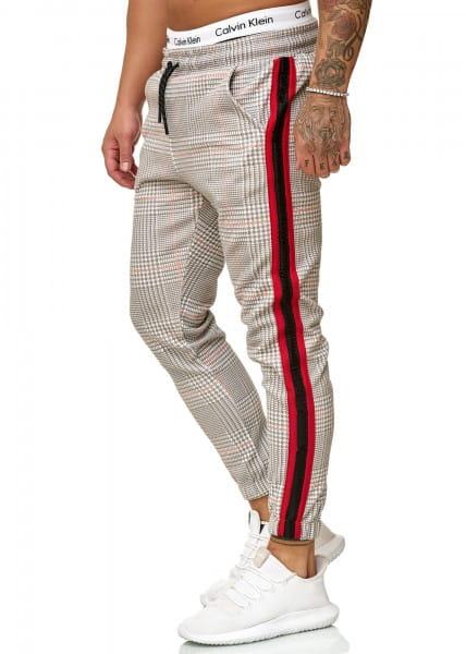 OneRedox Hommes | Pantalon de survêtement | Pantalon de survêtement | Pantalon de survêtement | Sport Fitness | Gym | Entraînement | Slim Fit | Sweatpants Stripes | Pantalon de survêtement | Modèle 1226
