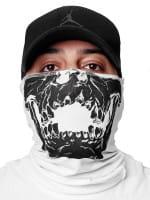 OneRedox Gesichtsschutz Halstuch Bedruckt Biker Schal Ski Motorrad Gesichtsmaske