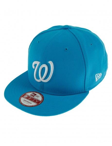 Nieuwe Era 9fifty Baseball Cap Cappy Washington Nationals Aqua