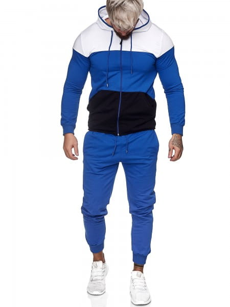 Heren trainingspak trainingspak fitness streetwear jg-1083