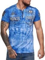 Heren T-Shirt Polo Shirt Korte mouw Printshirt Polo Korte mouw 3ds101