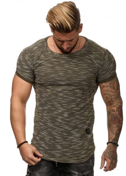 Herren T-Shirt Poloshirt Shirt Kurzarm Printshirt Polo Kurzarm W8C