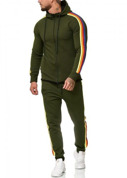 OneRedox Combinaison de jogging pour homme modèle 1244