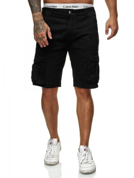 Herren Shorts Bermuda Jeansshorts Destroyed Wash Clubwear Modell XH22109