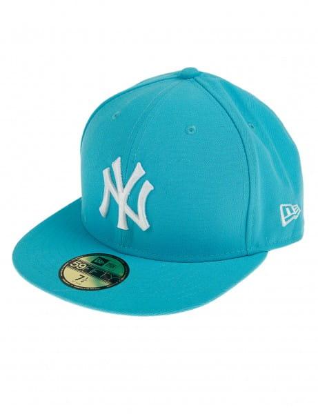 New Era 9fifty Baseball Cap Cappy New York Yankees Aqua