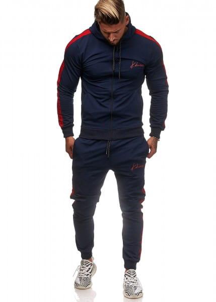 Survêtement pour hommes survêtement de sport fitness streetwear ko3392