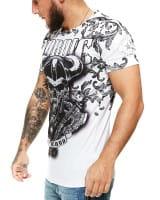 Herren T-Shirt Kurzarm Rundhals Nordic Wild Blood Modell 1488