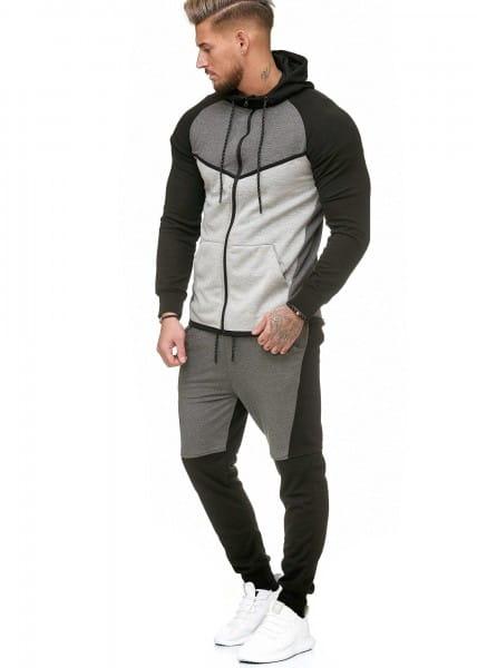 Herren Jogginganzug Trainingsanzug Sportanzug Fitness Streetwear 1125C
