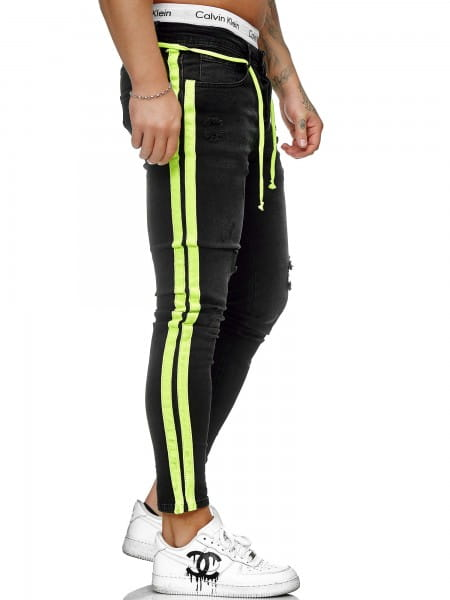 Heren Jeans Broek Slim Fit Heren Mager Denim Designer Jeans ko1008-sg-st