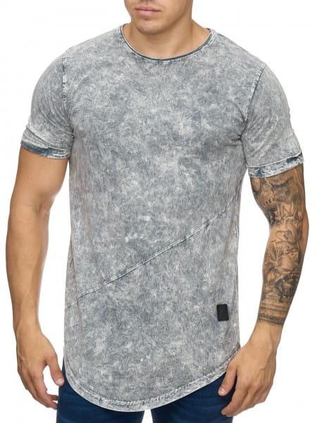 OneRedox Chemise pour homme Sweat à capuche à manches longues Chemise à manches courtes Sweatshirt T-Shirt 9033