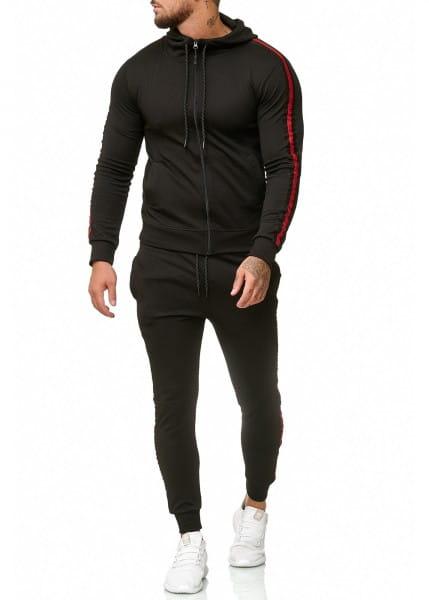 Herren Jogginganzug Trainingsanzug Sportanzug Fitness Streetwear 1004AC