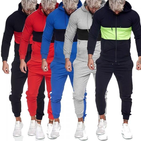 Survêtement de jogging pour hommes Survêtement de sport Survêtement de sport Streetwear jg-1081