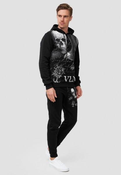 OneRedox Herren Jogginganzug Trainingsanzug Männer Sportanzug Fitness Outfit Streetwear Tracksuit Jo